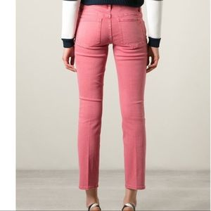 TORY BURCH Jeans Pink women's Size 29 Stretch
